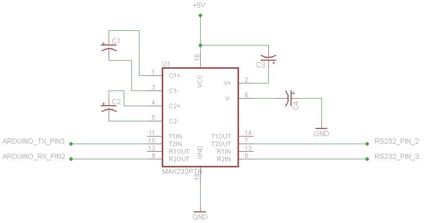 Arduino With Max232 Not Transferring Data Properlyrhforumarduinocc: R S Arduino Board Schematic At Elf-jo.com