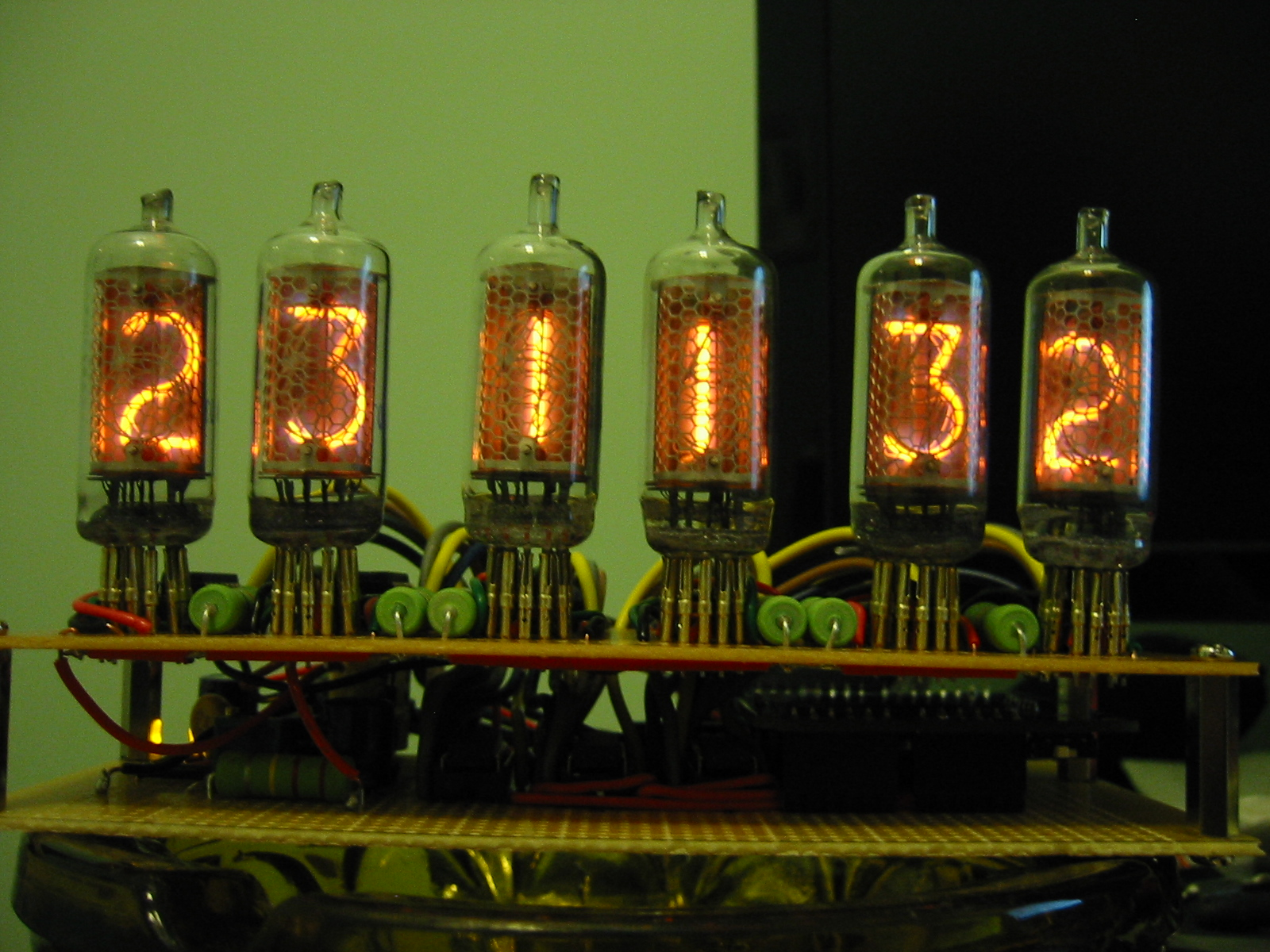 Arduino Driven Nixie Clock